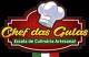 Logo chefdasgulas Culinária Artesanal